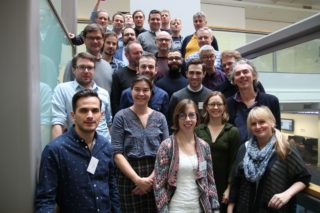 The members of the INJECT consortium at the kick-off meeting of the project in London in January 2017